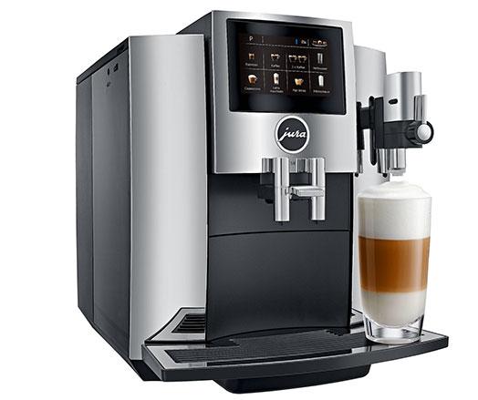 Mit der Jura S8, eröffnet mit der Schweizer Hersteller sein neues Premiummittelsegment. (Bild: Jura)