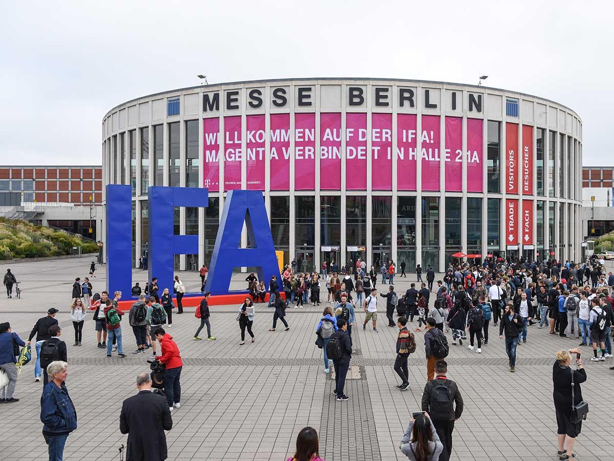Die IFA 2018 war ausgebucht und bot Besuchen viel Neues. (Bild: Messe Berlin)